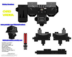 Chad Vader Cubeecraft by KidsleyKreations