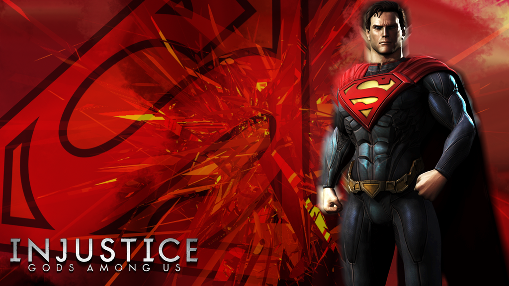 Injustice gods among us superman wallpaper by kidsleykreations on injustice gods among us superman wallpaper by kidsleykreations voltagebd