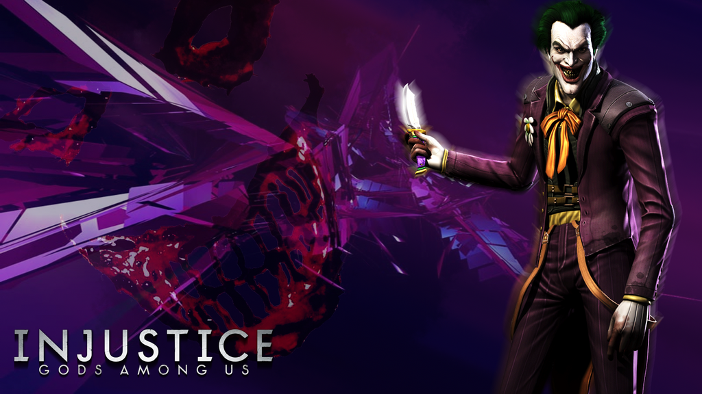 Injustice gods among us the joker wallpaper by kidsleykreations voltagebd