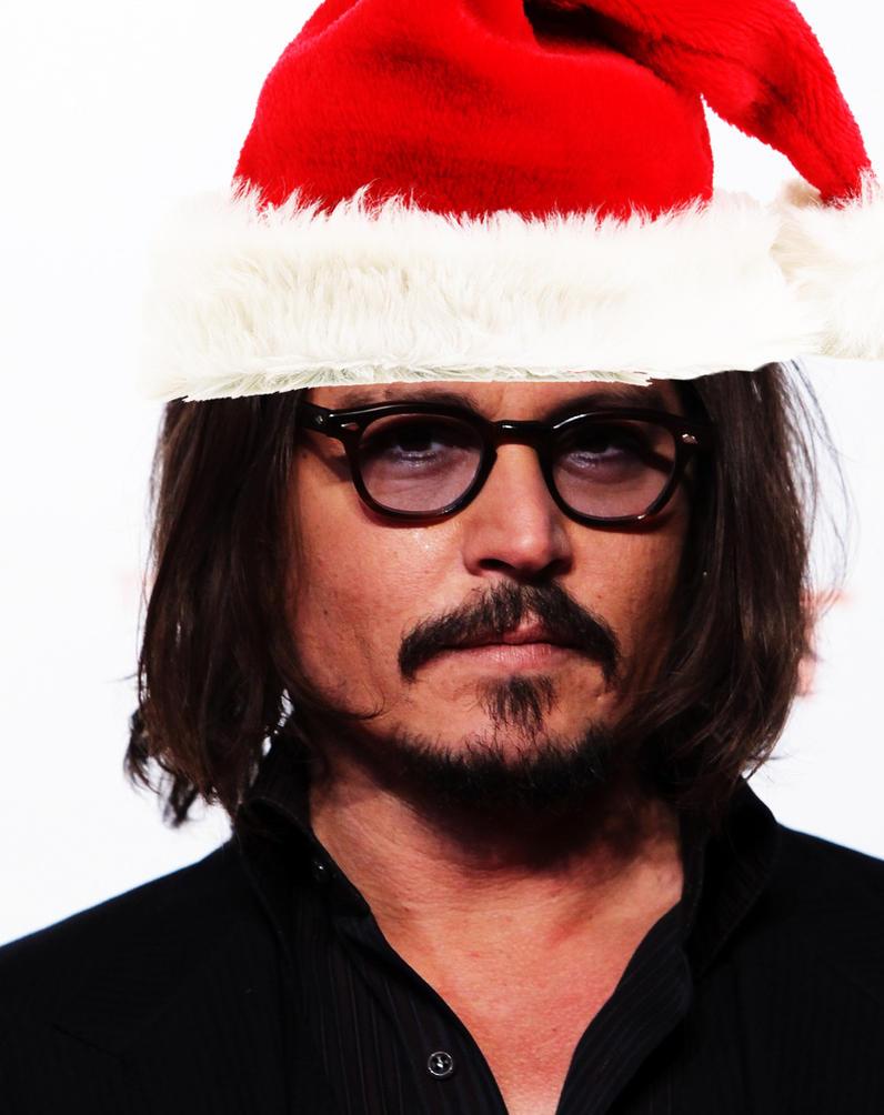 Christmas Advent - Day 2 - Johnny Depp by KidsleyKreations on DeviantArt
