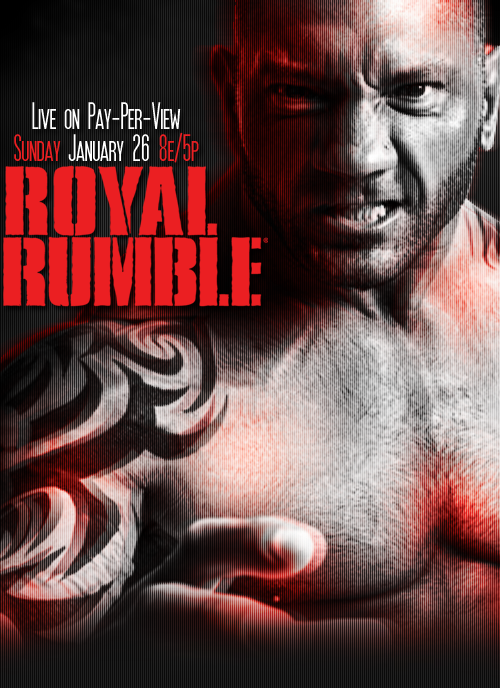 Image result for royal rumble 2014 poster