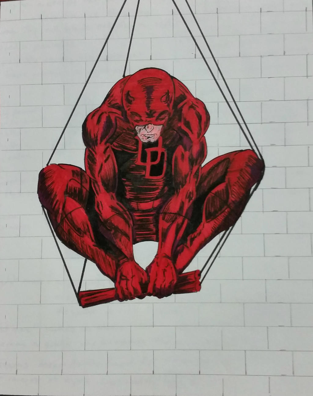 netflix daredevil coloring pages - photo#17