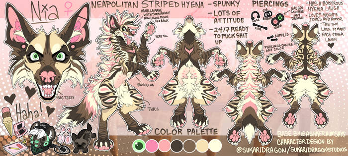 Nia - Vani - Striped Hyena Base