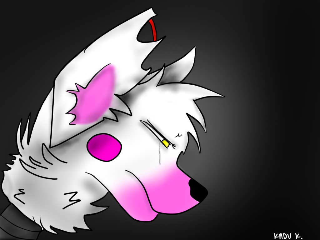 Crying mangle five nights at freddy s by solitaryfoxy on deviantart