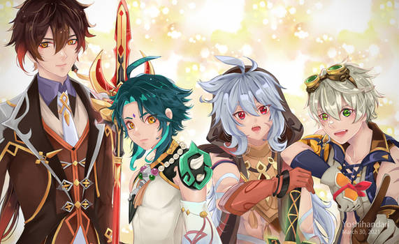 My main team in Genshin Impact