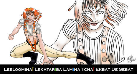 The Fifth Element: Leeloo by Geuna