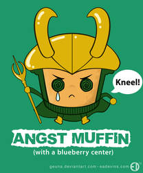 Loki Angst Muffin by Geuna