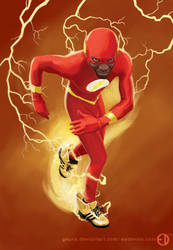 Devin ''The Flash'' Johnson by Geuna