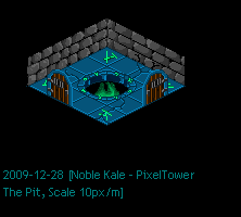 PixelTower - The Pit by noblekale
