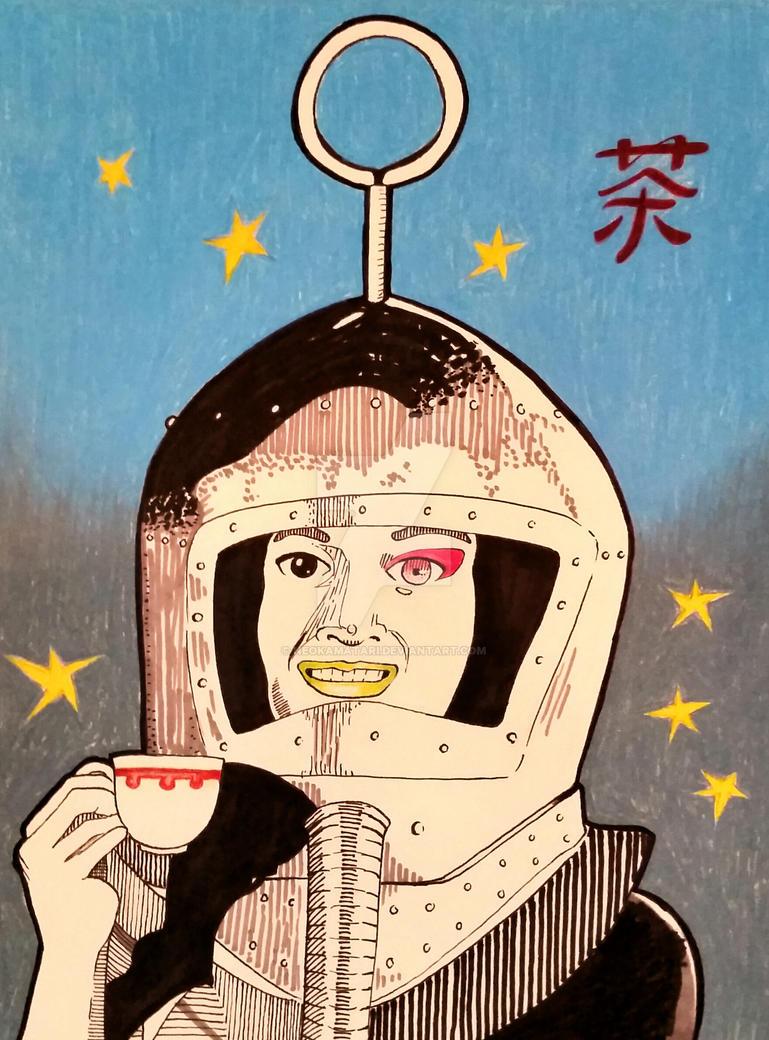 Moon Rocket Tea Time? by neokamatari