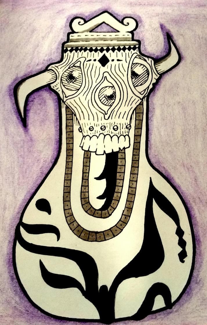 Demon jar by neokamatari