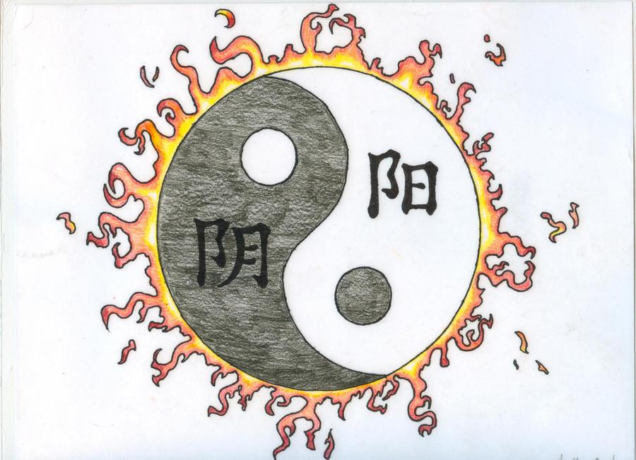 Yin yang tattoo design by chidori97 on deviantart for Architecture yin yang