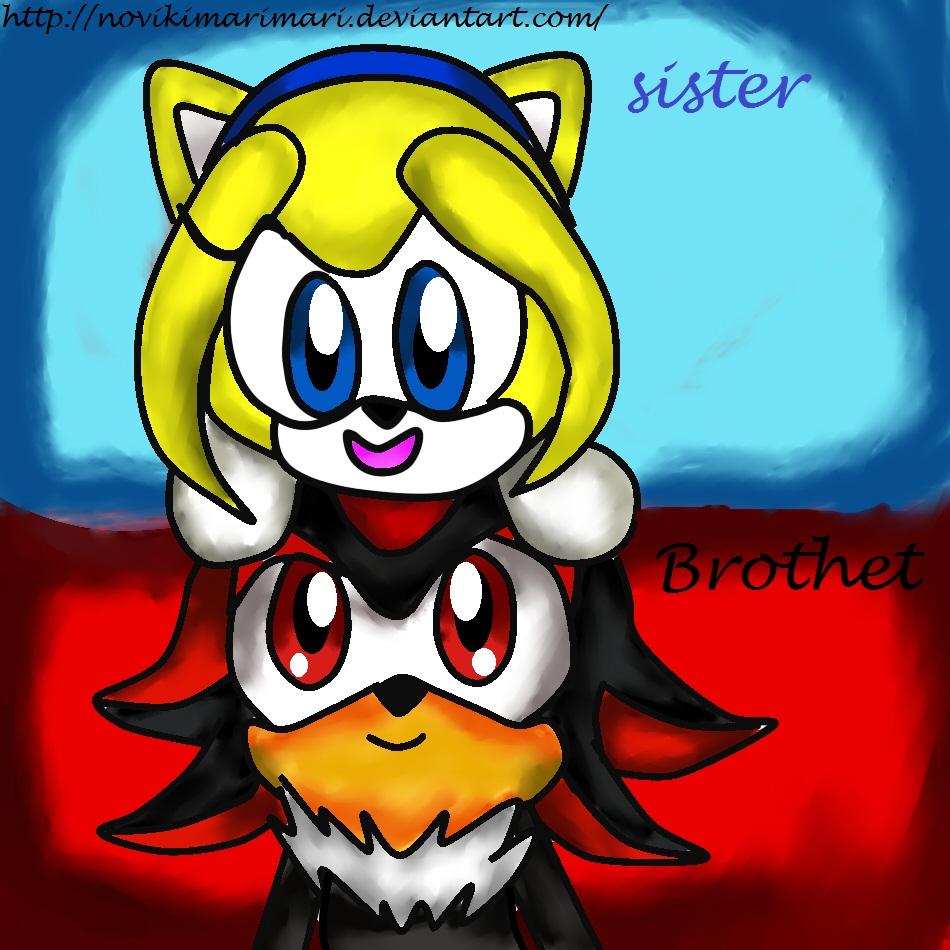 Hermano y hermana checos