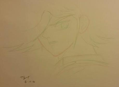 The Majestic Sassy Hairflip (tm) - sketch by Fullmetal-Heroine