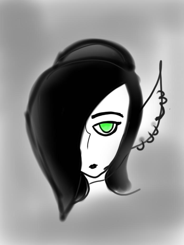 Emo elf by Mangleofdarkness22