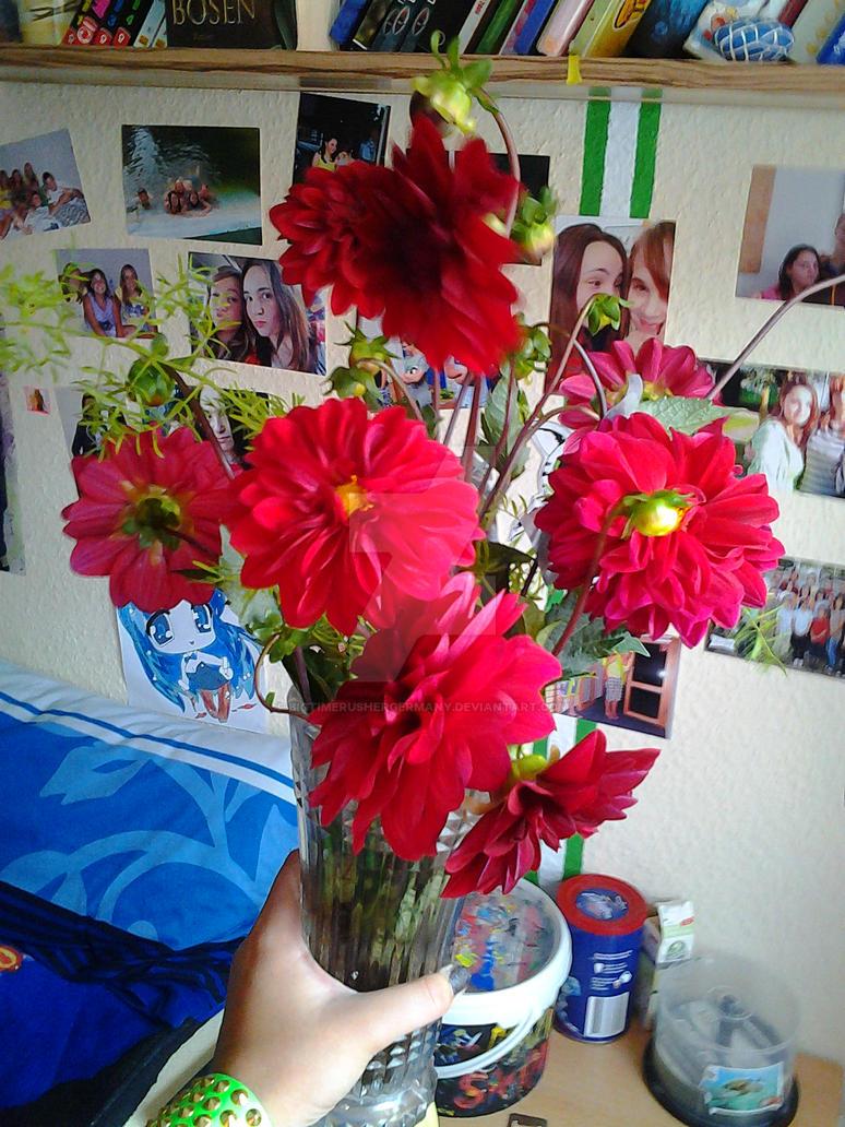 My Birthday Flowers By Bigtimerushergermany On Deviantart