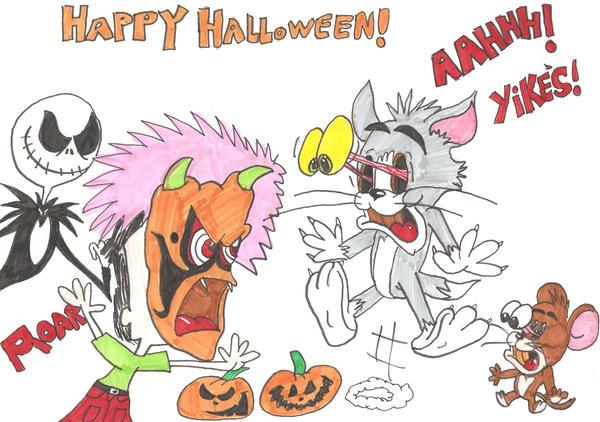 tom and jerry's halloweenjamesf5 on deviantart