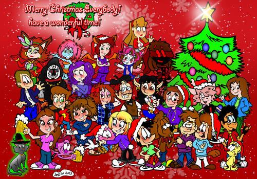 The Christmas Group Art 2013