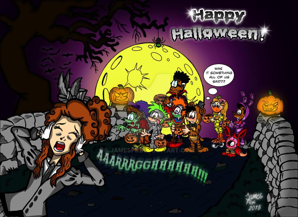 Happy Halloween 2015 by Jamesf5