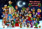Christmas Group Art 2015