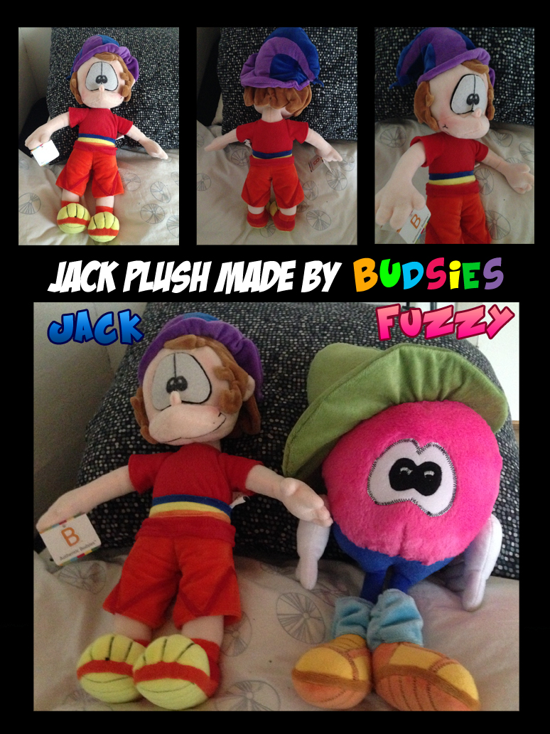 My Jack Budsies Plush by Jamesf5