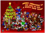 Christmas Group Art 2018