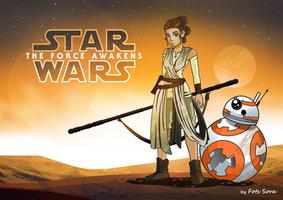 Rey - The Force Awakens