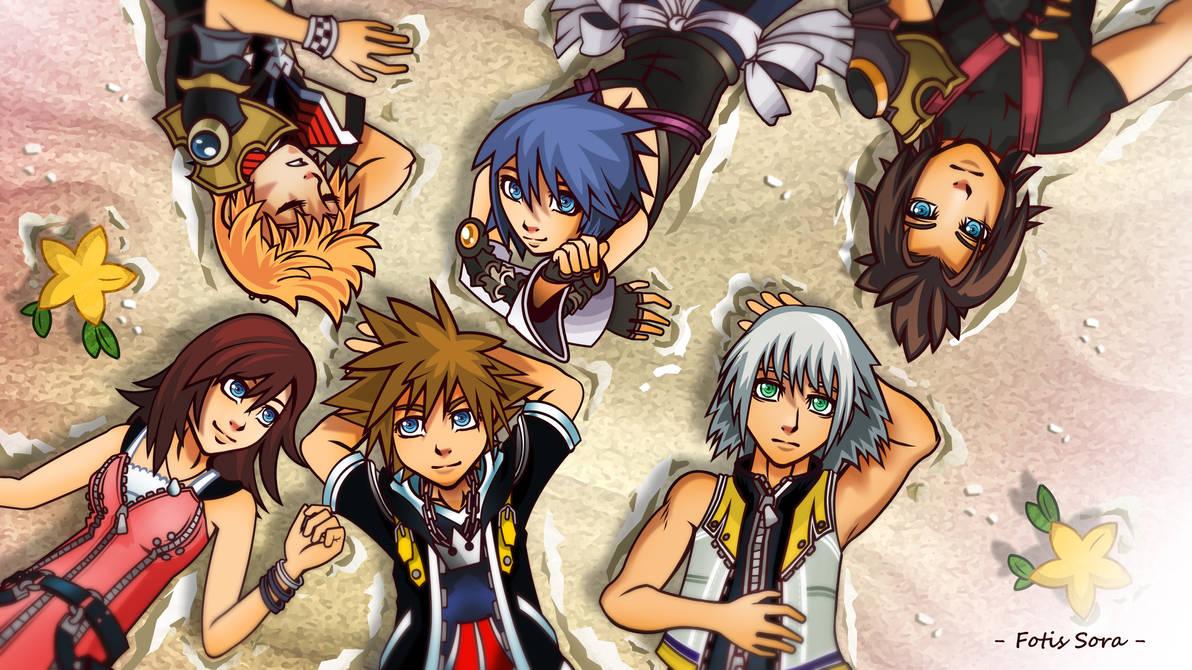 Kingdom Hearts - Destiny Islands