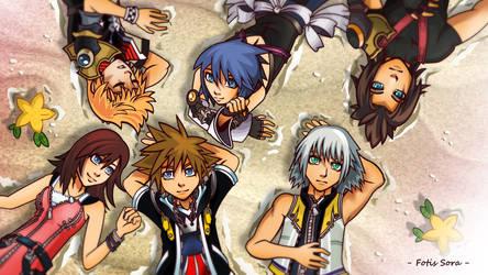 Kingdom Hearts - Destiny Islands by fotis-sora