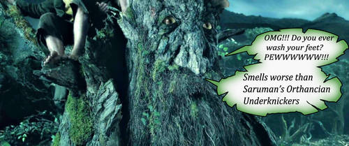 Tree Foot by Dreadalous