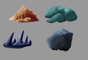 Stone Textures 2 by Dreadalous