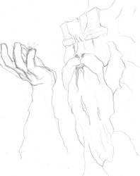 Great Grandfather Rock Sketch by Dreadalous