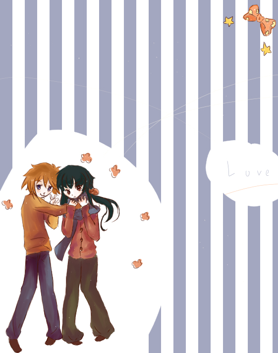 Mai HiME/Otome fanart not your own? Post em' here! * - Page 2 Mai_HiME__TakuAki_by_Purring_M