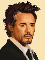 Study Robert Downey Jr. by aladora