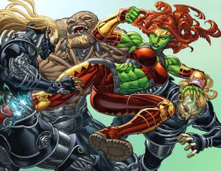 She-Hulk by GURU-eFX