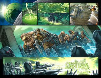 SheHulk pages. by GURU-eFX