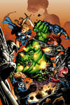 Hulk VS Secret Avengers