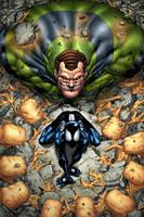 Spider-Man Vs. Sandman by GURU-eFX