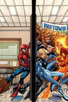 Spidey VS the Fantastic Four by GURU-eFX