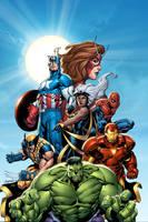 Avengers by GURU-eFX