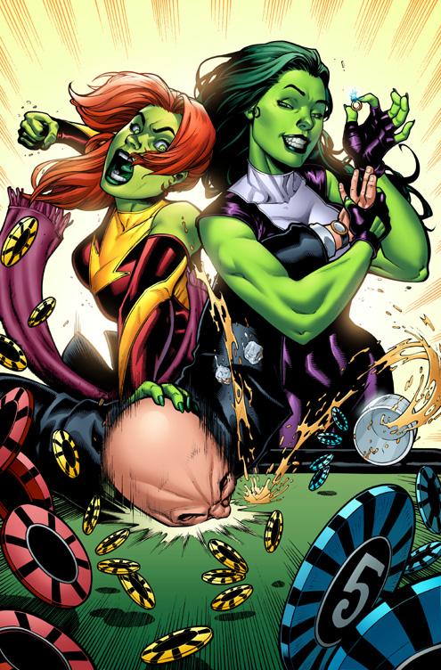 She-Hulks.. by GURU-eFX