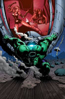 SheHulks and Hulk by GURU-eFX