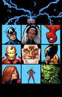 The Avengers Bunch by GURU-eFX
