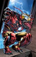 Iron Man Venom by GURU-eFX