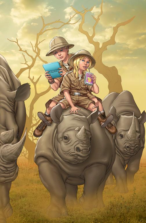 Fantastic Four 18 cover by GURU-eFX