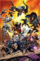 X-Men 29 cover by GURU-eFX