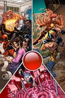 Wolverine and the X-Men 18 cvr by GURU-eFX