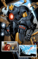 Marvel Now Iron Man 4 pg5 by GURU-eFX