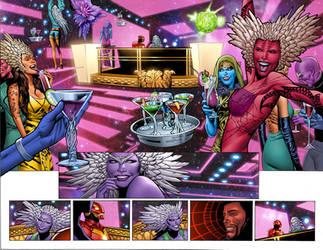Marvel Now Iron Man 6 pg4-5 by GURU-eFX