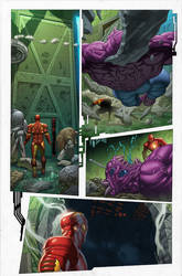 Marvel Now Iron Man 9 pg2